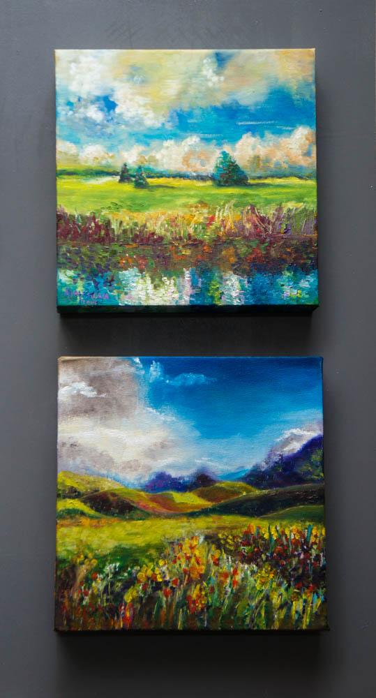 Landscape I and II